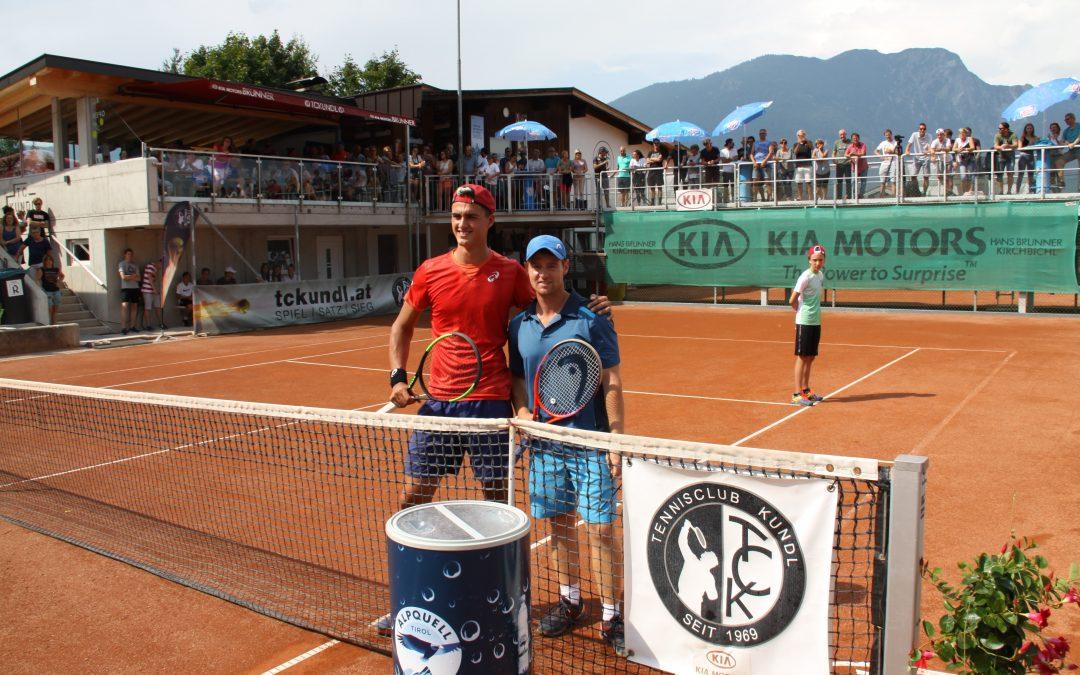 Tennisturnier in Kundl mit Top-Besetzung