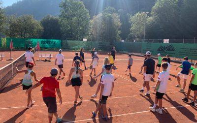 Spaß ohne Limit: Das war das TCK-Tenniscamp 2020