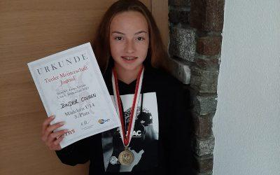 Coleen Binder holt Bronze bei den U14-Landesmeisterschaften